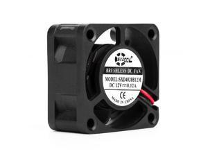 SXDOOL SXD4020B12M 4020 40*40*20mm DC12V 0.12A 6500RPM 7.0CFM 1U axial case cooling fan