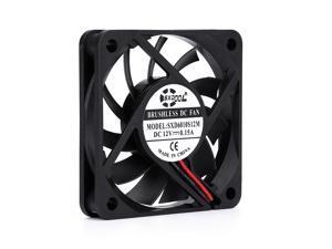SXDOOL SXD6010S12M 6010 60mm slim 10mm DC 12V 0.15A 3300RPM 13CFM axial cooling fan