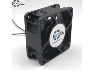 SXDOOL EC Brushless Axial Cooling fan 60mm 6cm AC 110V 115V 220V 230V 5W 5500RPM 25.2CFM large air flow Energy saving