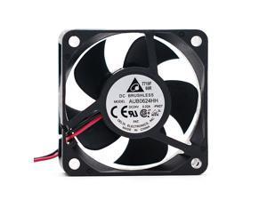 1pcs AUB0624HH 6025 6cm Inverter Radiator Fan 24V 0.22A