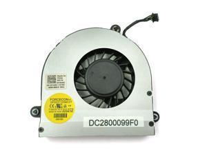 New Laptop cpu cooling fan For Dell Alienware M17X R3 R4 R5 Series 0XVXVH DC28000CMF0 XVXVH