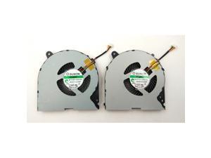 New For Lenovo Ideapad Y700 Y700-15 Y700-15ISK 15.6-Inch 17-Inch Series Laptop CPU & GPU A Pair Fan MF75100V1-C010-S9A