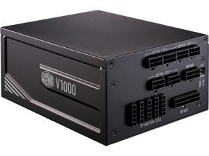 Cooler Master V1000 Platinum 1000W Full-Modular, 80 PLUS Platinum, Japanese Capacitors, Single\/Multi Rail Switch, 10 Year Warranty Power Supply