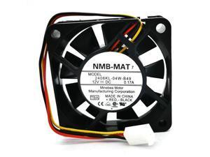 NMB 6cm 2406KL-04W-B49 TBA 6015 DC12V 0.17A cooling fan 2406KL-04W-B59