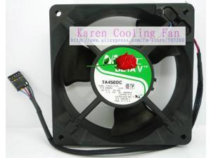 NIDEC 12CM C33211-71A 12038 12v 0.49a TA450DC cooling fan