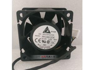 PFC0612DE 12V 1.68A 6038 6CM high speed cooling server fan