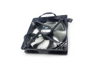 For Cooler Master A12025-20CB-4BP-F1 DC 12V 0.37A 120x120x25mm 4-Wire Server Cooling Fan