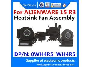 new original Laptop CPU\/Graphics Cooling Heatsink Fan Assembly For Dell Alienware 15 R3 AW15 R3 GTX1060M GTX1070M 0WH4R5 WH4R5