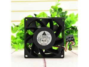 Delta 12V 1.35A FFB0812EHE 8038 Power Supply Cooling Airflow Cooling Fan