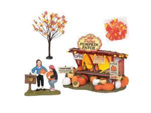 Department 56 Halloween Village Patty's Pumpkin Patch 4 Piece Set 6005479 New