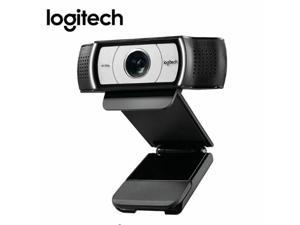 Logitech  Business Webcam, Full HD 1080p/30fps Video Calling, Light Correction, Autofocus, 4X Zoom, Privacy Shade, Works with Skype Business, WebEx, Lync, Cisco, PC/Mac/Laptop/Macbook/Chrome C930c
