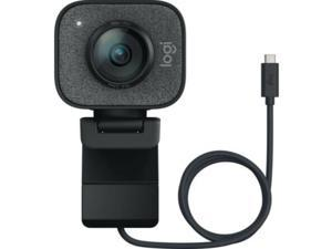 Logitech StreamCam, 1080P HD 60fps Streaming Webcam with USB-C and Built-in Microphone (In Hand)