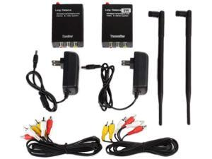 Wireless AV Sender TV Audio Video Transmitter Receiver 2.4G 5W 5000mw for CCTV Camera VCR Recorder Elevator Monitoring