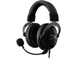HyperX Cloud II - Gaming Headset, 7.1 Surround Sound, Memory Foam Ear Pads, Durable Aluminum Frame, Detachable Microphone, Works with PC, PS4, Xbox One