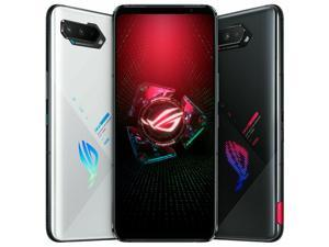 Tencent Version-Original Global Rom Vesion ASUS ROG Phone 5 5G Snapdragon 888 Game Phone RAM 8GB/12GB/16GB ROM 128GB/256GB Dual Sim (GSM Only | No CDMA) Unlocked - Black(In Hand)