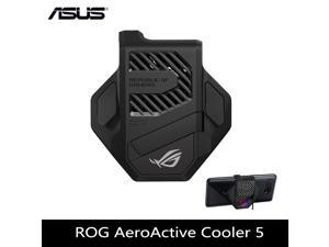 ROG Phone 5 Aero,ROG 5 cooler,Original Rog 5 Cooling Fan AeroActive Cooler 5 FOR ASUS PHONE 5 Asus Accessories Support Aura Light Effect(In Hand)