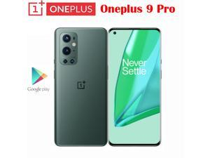 Global Rom Original New Official Oneplus 9 Pro 5G Smartphone Snapdragon 888 6.7inch LTPO AMOLED 120Hz 50MP +48MP+8MP+2MP Quad Cameras NFC Unlocked International Model(GSM Only Not CDMA)