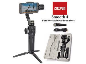 Zhiyun Smooth 4 3-Axis Handheld Gimbal Stabilizer YouTube Video Vlog Tripod for iPhone Xs Max Xr X 8 Plus 7 6 SE Android Smartphone Samsung Galaxy S10 S9+ S9 S8+ S8 S7 Q2 Smooth-Q III 2019 New