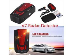 FCC Certification Voice Alert /& Car Speed Alarm System with 360 Degree Detection New Radar Detector City//Highway Mode