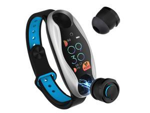 New Smart Watch Bluetooth Earphone 2 in 1 BT 5.0 Women Men Smart Watch Android IOS BT Call Siri Support Fiteness Bracelet LT04