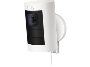Ring 8SS1E8-WEN0 Stick Up Indoor/Outdoor Wired Security Camera - White