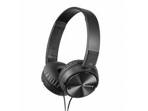 Sony On-Ear Noise Cancelling Headphones (MDRZX110NC) - Black