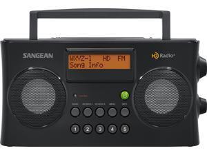Sangean HD Portable Radio Black HDR-16