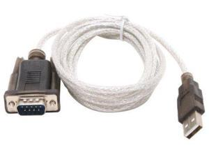 Sabrent 6FT USB to RS-232 DB9 Serial 9 pin Adapter (Prolific PL2303) SBT-USC6K