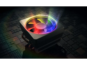 Genuine AMD Wraith Prism LED RGB Cooler Fan for Ryzen 7 2700X / 3700X / 3800X and Ryzen 9 3900X 3900XT 3950X Processors