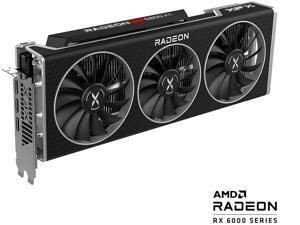 XFX SPEEDSTER MERC319 AMD Radeon RX 6800 XT CORE Gaming Graphics Card with 16GB GDDR6 HDMI 3 x DP, AMD RDNA 2, RX-68XTALFD9