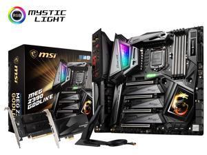 MSI MEG Z390 GODLIKE Socket LGA1151 Intel Z390 SATAIII USB3.1 ATX Motherboard
