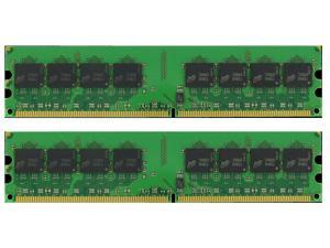 4GB (2X2GB) DESKTOP MEMORY PC2-5300 667MHZ 1.8V UNBUFFERED DDR2 240 PIN DIMM