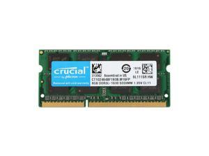 Laptop Memory/Ram Crucial 8GB ddr3-1600 CT102464BF160B SODIMM 204pin 1.35v 2Rx8 for HP 23-r036la All-in-One