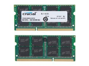 Crucial Laptop Memory Mac CT8G3S160BM 16GB(2 x 8GB) 2RX8 DDR3L 1600Mhz(PC3 12800) 204-Pin 1.35V SODIMM RAM For HP ENVY TS m7 (4th Gen Intel Core)