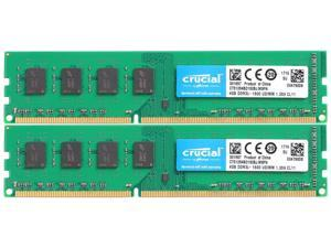 16GB (2 x 8GB) RAM 240-Pin DDR3 2RX8 DIMM CL11 SDRAM DDR3L 1600 (PC3L 12800) Desktop Memory Model CT2K102464BD160B  Compatible With ASUS Maximus IV Extreme by Crucial RAM