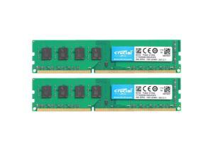 16GB (2 x 8GB) RAM 240-Pin DDR3 2RX8 DIMM CL11 SDRAM DDR3L 1600 (PC3L 12800) Desktop Memory Model CT2K102464BD160B  Compatible With ASUS Z97-PRO GAMER by Crucial RAM