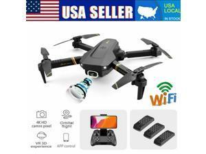 2021 Rc Drone 4k HD Wide Angle Camera WiFi fpv Drone Dual Camera RC Quadcopter