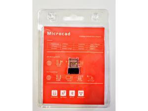 Microcad USB Wi-Fi & Bluetooth 4.0 Adapter - 150Mbps