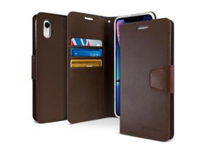 Apple  IPHONE 6 Goospery Wallet Diary Flip Case  BROWN