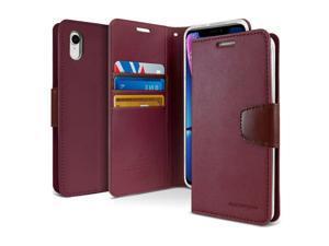 Apple  IPHONE 6 Goospery Wallet Diary Flip Case  WINE