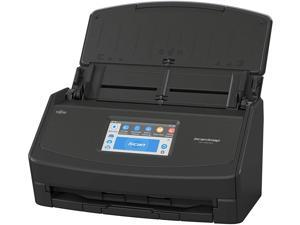 Fujitsu PA03770-B105 ScanSnap iX1500 Color Duplex Document Scanner with Touch Screen for Mac and PC (Black Model)