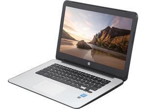 "HP 14 G4 (T4M33UT#ABA) Chromebook Intel Celeron N2840 (2.16 GHz) 4 GB Memory 16 GB eMMC SSD 14.0"" Chrome OS *B Grade*"