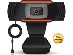 Microcad 720P HD USB Webcam with Microphone for PC, Laptops, Desktop and Gaming