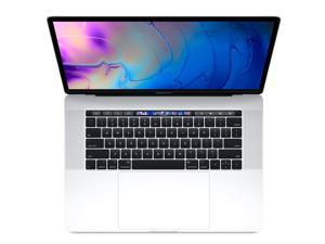 Apple MacBook Pro MR962LL/A 15.4 Inch 2.2GHz i7 Touch Bar Silver (16GB RAM, Radeon Pro 555X) Previous Model, Mid 2018