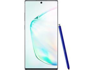 Samsung Galaxy Note 10+ Plus 256GB Factory Unlocked Aura Glow (Fully Unlocked, 6.8 Inch Display, 4G LTE, U.S. Version) SM-N975UZBAXAA