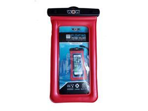 """WOW Watersports H2O Proof Smart Phone Holder - 5"""" x 9"""" - Red"""