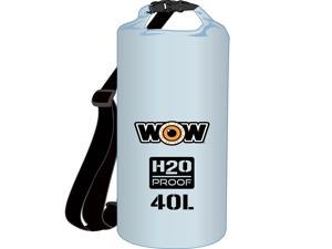 WOW Watersports H2O Proof Dry Bag - Clear 40 Liter