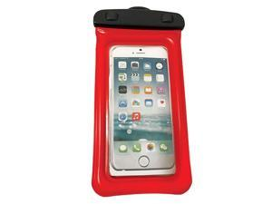 """WOW Watersports H2O Proof Phone Holder - Red 4"""" x 8"""