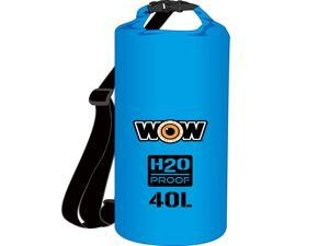 WOW Watersports H2O Proof Dry Bag - Blue 40 Liter