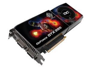 BFG BFGEGTX2851024OCE GeForce GTX 285 OC 1GB GDDR3 PCI Express 2.0 Graphics Card